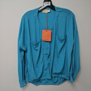 Ramy Brook Becca Long Sleeve Top, XS